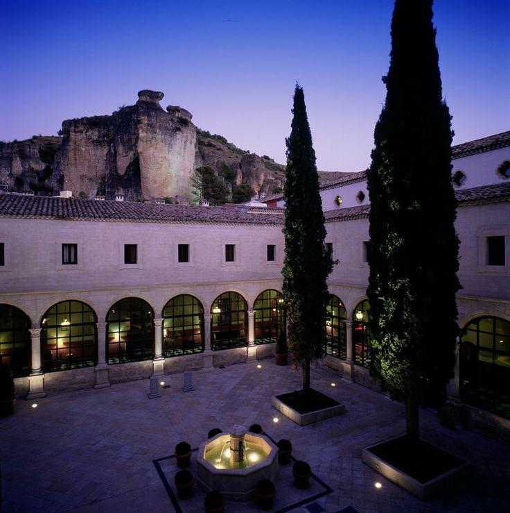 #Parador de #Cuenca #bodas con #historia #ideales #weddingvenue patio perfecto para el #cocktel
