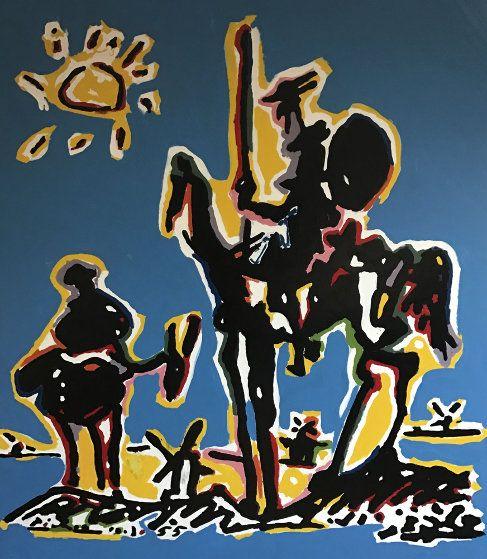 Homenaje a Picasso - Don Quixote Unique 2008 46x42