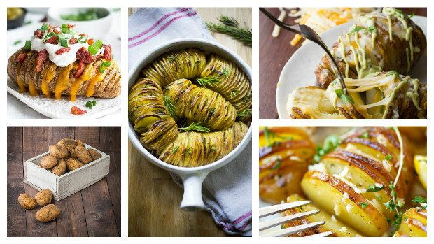 I obyčejné pečené brambory se dají neobyčejně vylepšit.