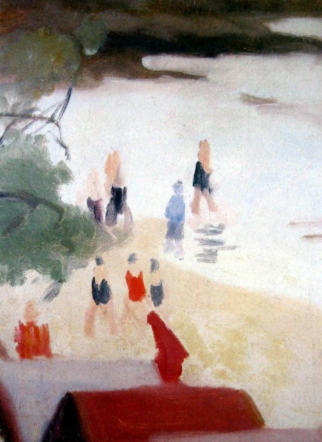 Clarice BECKETT (Australian. (1887 - 1935): Bathers, Beaumaris