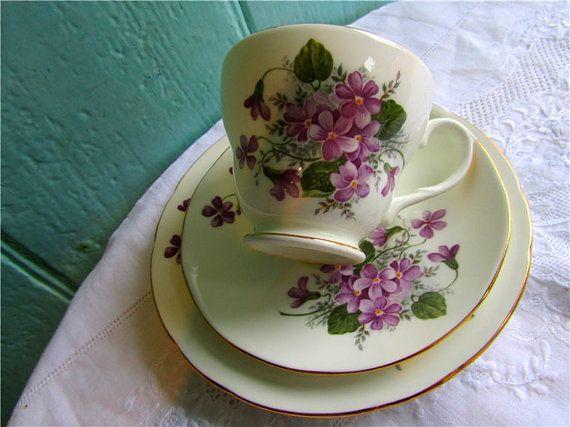 1950's English Vintage Tea Set by TheDorothyDays, £16.00