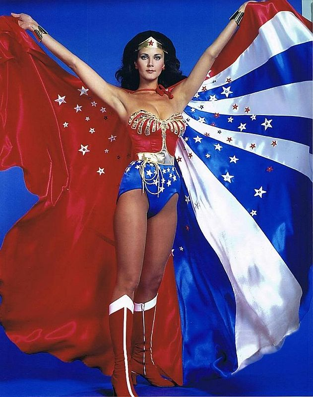 Lynda Carter = Wonder Woman. Nuff said http://hubpages.com/literature/Female-Superheroes-Brought-to-Life