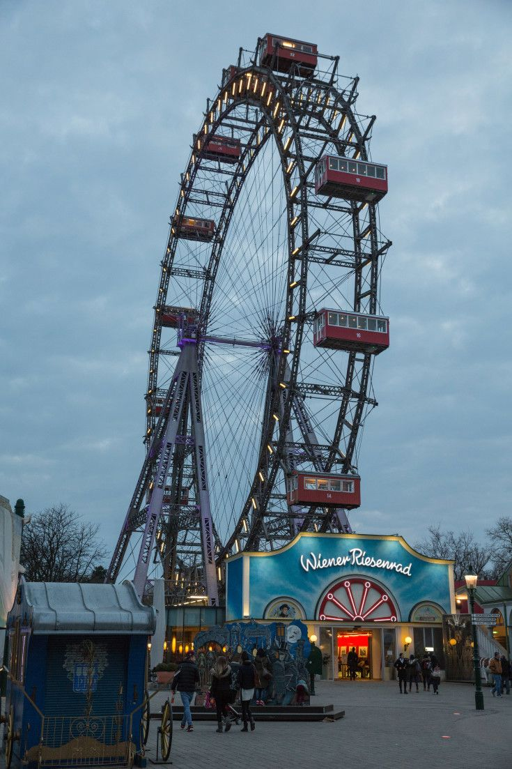 Film and Photo Shoot Locations in Austria: Wiener Riesenrad Ferris Wheel, Amusement Park
