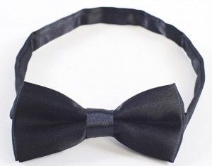 Boys Bowtie Black