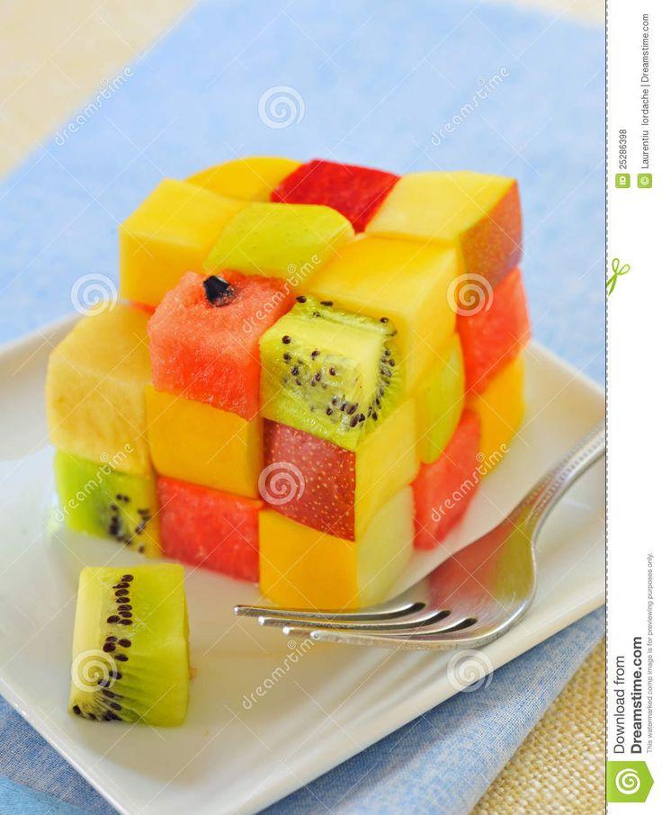 Cubo de fruta