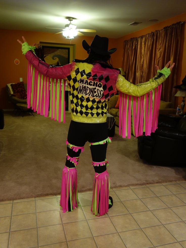 Macho Man Randy Savage Homemade Costume 2014