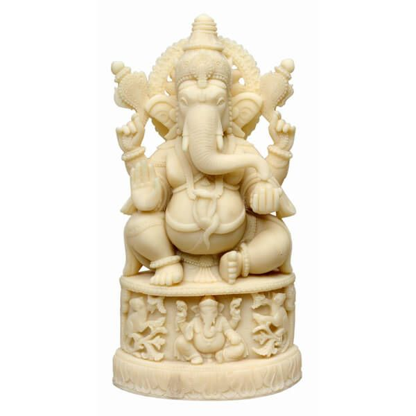 This statue of Lord Ganesha is a perfect piece to be gifted to your friends or family this Diwali. It can also be used for gifting on other occasions like Birthdays, Anniversaries, House Warming etc. You can also buy it as a showpiece for your own house.