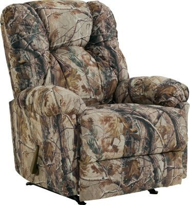 Best Home Furnishings Camouflage Outdoorsman Rocker Recliner – Realtree