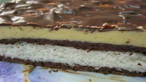 Jemné řezy s kokosovým a vanilkovým krémem s báječnou čokoládovou polevou! | Milujeme recepty