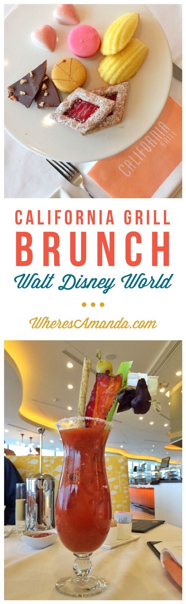 Detailed review of the decadent brunch being served every Sunday at Walt Disney World's California Grill