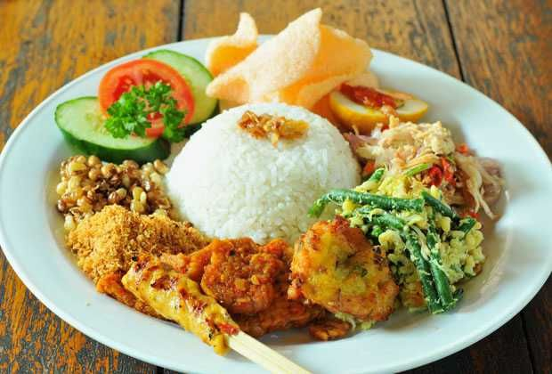 Popular Balinese & Indonesian food