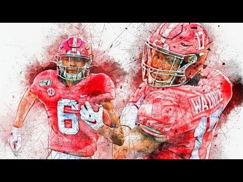Next Great Alabama Duo Jaylen Waddle Devonta Smith Highlights The 2019 Season Youtube In 2020 Alabama Seasons Alabama Football