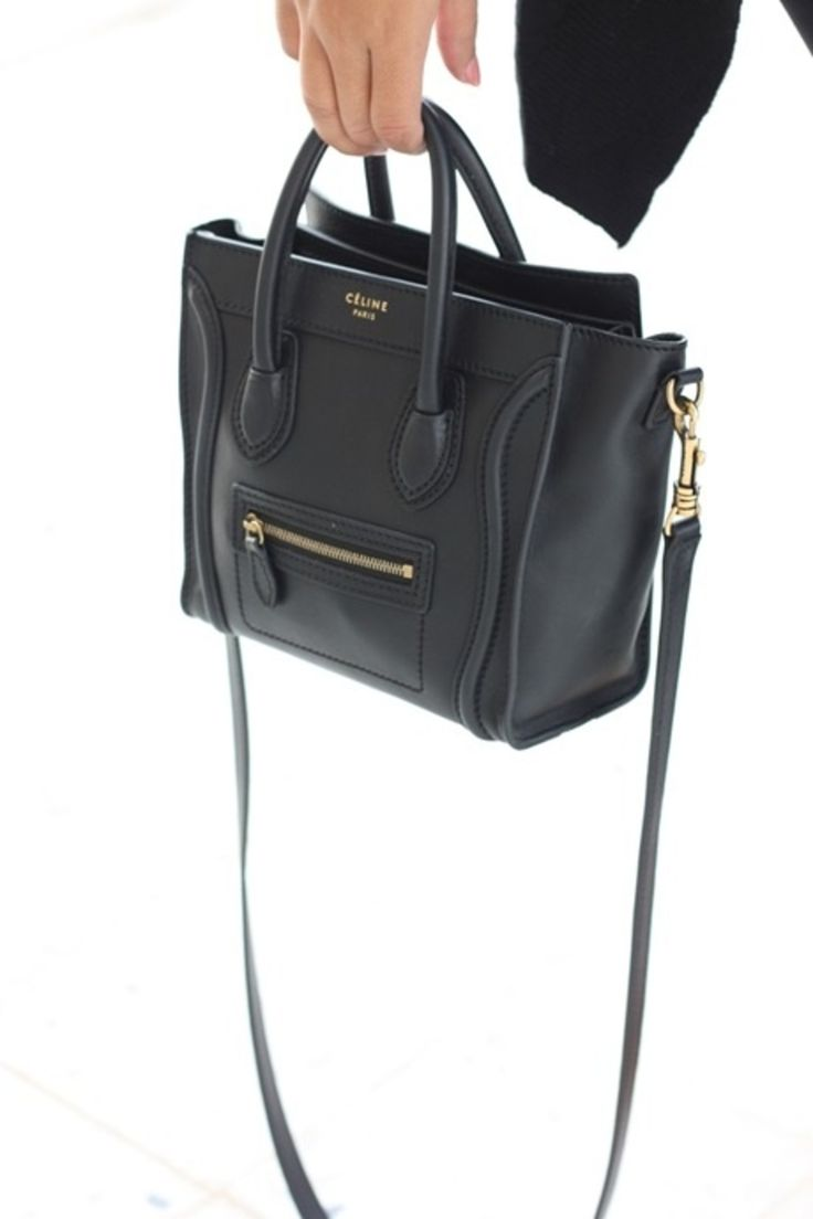 CELINE SHOULDER BAG @Michelle Flynn Flynn Coleman-HERS  This looks just like coach purse that is out...