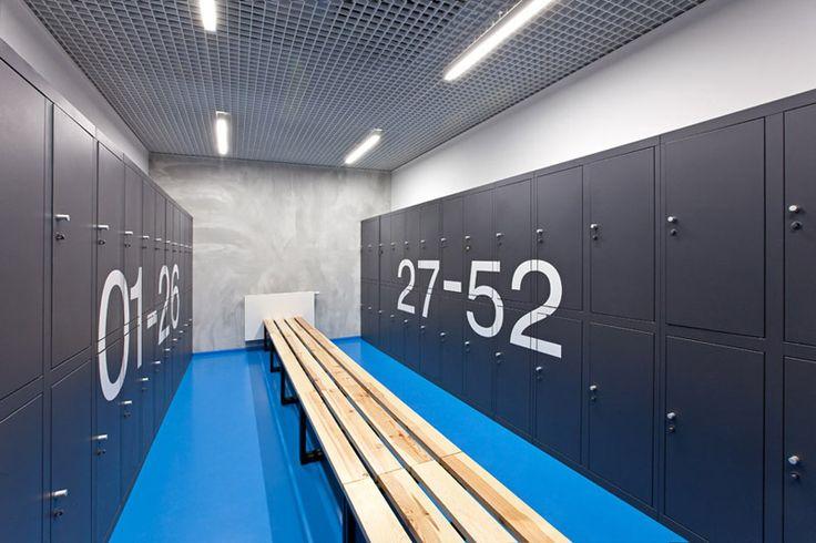 aKlub Adrenalina Fitness. Projekt wnętrz i elewacji: Spacelab Agnieszka Deptuła Architekt