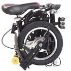 "12 ""folding bicycles Super light super small portable folding bikes in adults 01"