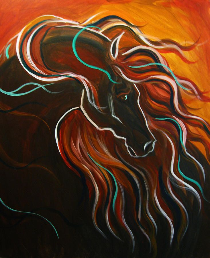 horses abstract art - Google Search