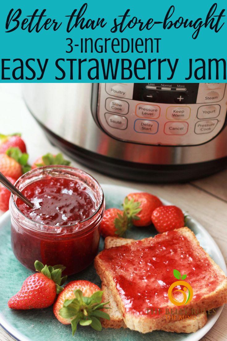 Easiest Strawberry Jam Ever!!!