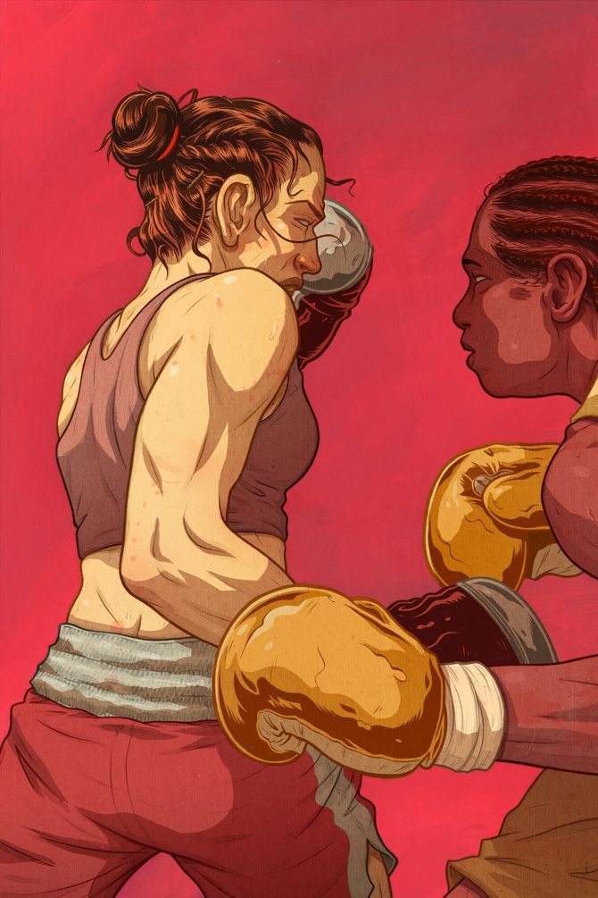 Boxing - Max Temescu Illustration