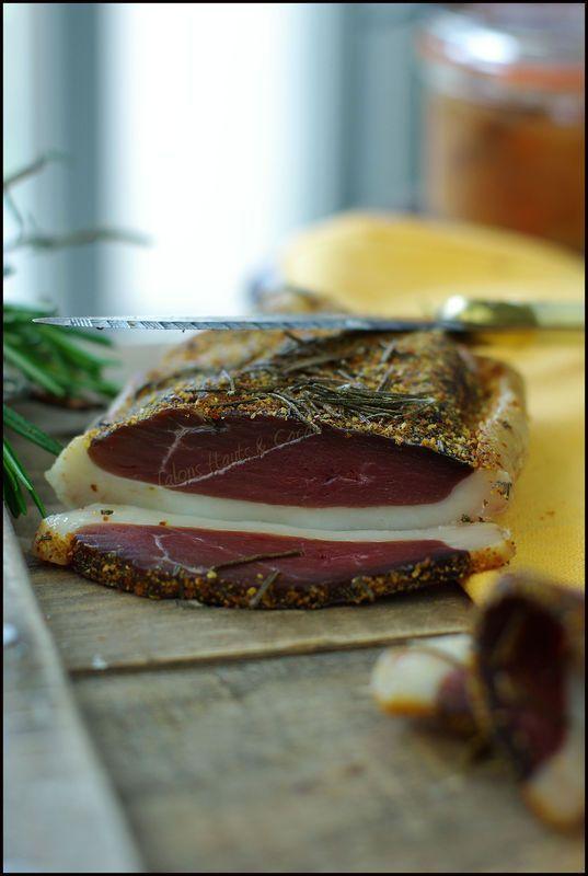 Magret de canard séché au romarin et piment d'Espelette ......... et si vous passiez prendre l'apéro à la