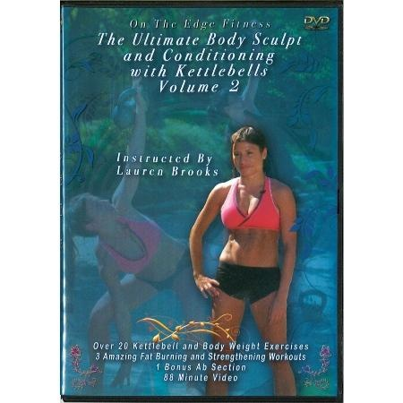 I don't usually like sequels, but Lauren Brooks' second kettlebell DVD is an exception to the rule. Volume 2 of her DVDs is another source of challenging kettlebell workouts.