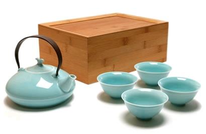 Japanese style tea set