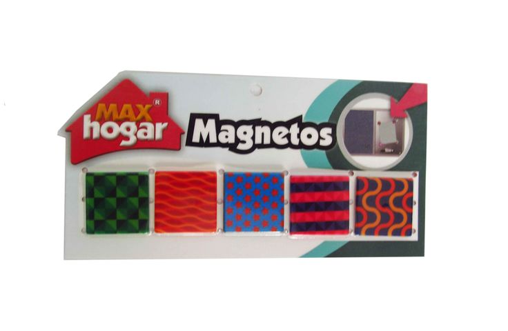 Magnetos multicolor decorativos