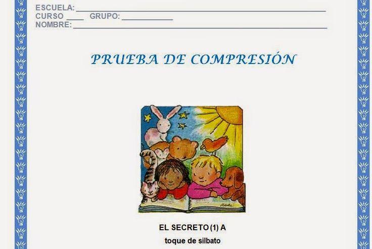 Examen de Comprension Lectora - Descargar Gratis | Planeaciones para Primaria