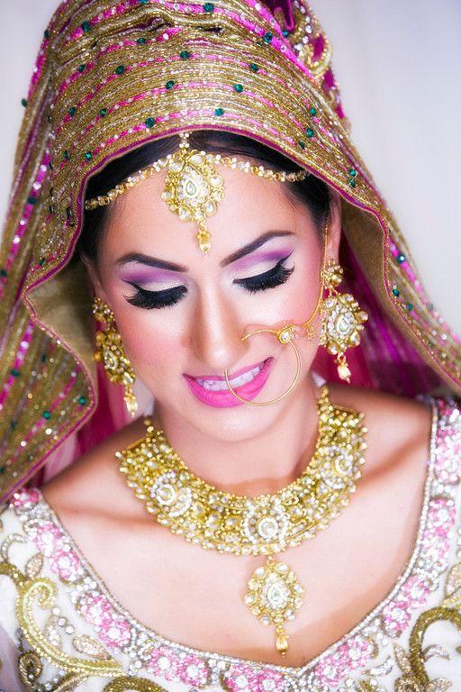 Indian Bride, Indian Wedding, Punjabi Wedding, Pink ...