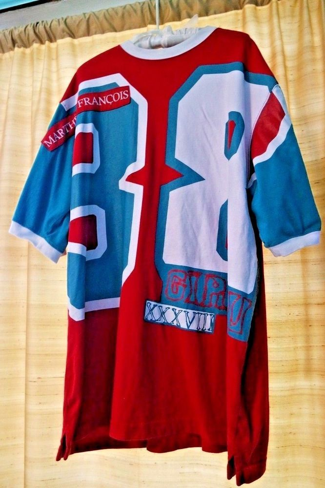 b2fcef190cdda Vintage 90s Hip Hop Marithe Francois Girbaud Short Sleeve Shirt 38 ...