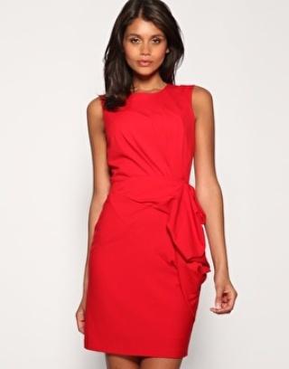 Celebstyle: Eva Longoria in rode jurk - Fashionscene