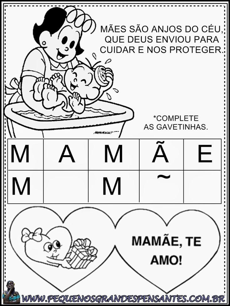 Atividade Para o Dia Das Mães - Educação Infantil   MÃES ...