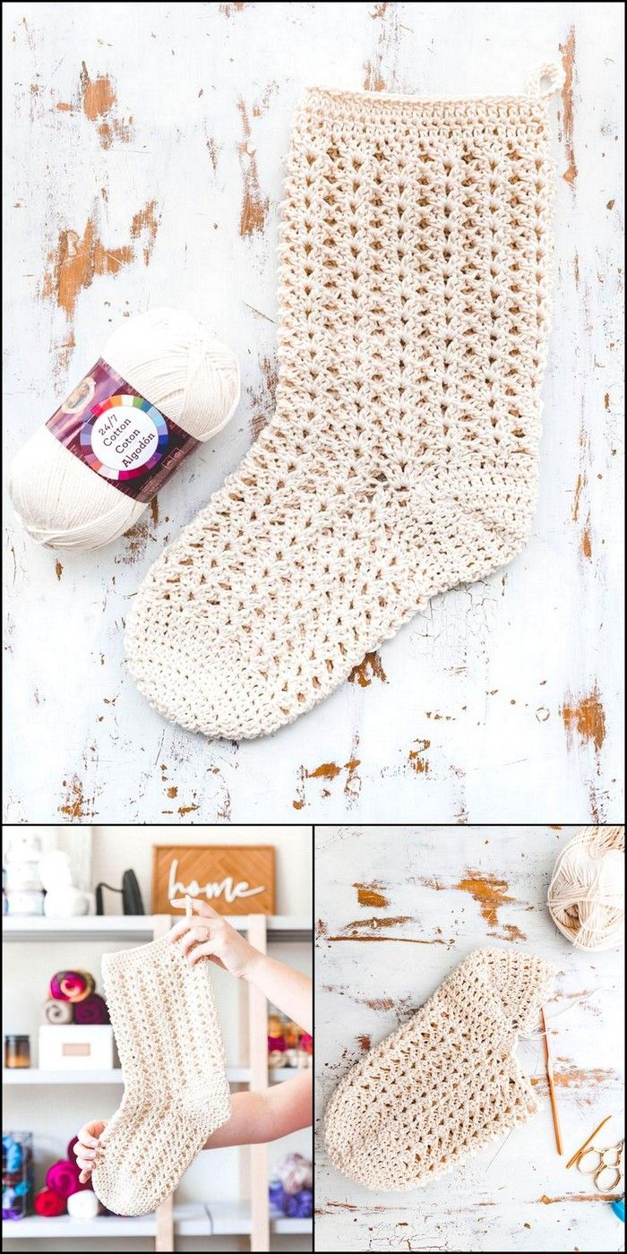 Kids Winter Socks Crochet Designing Idea