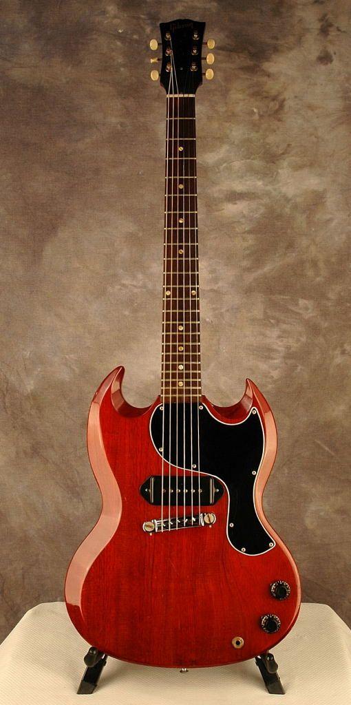Gibson 1961 Les Paul SG Junior Cherry   ronsvintage.com