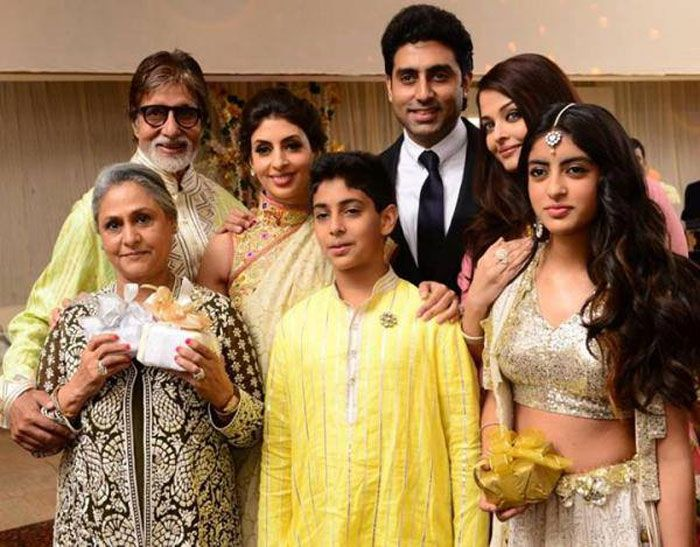 Pics: Bachchan family's wedding revelry http://movies.ndtv.com/photos/bachchan-family-s-wedding-revelry-15280