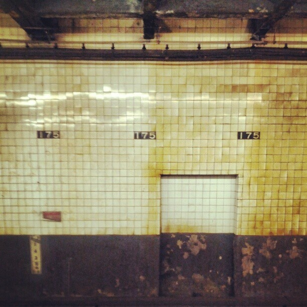 #NYC #subway #175 #NewYork #NewYorkCity - @ruben_i- #webstagram: Nyc Subway, 175 Newyork, Subway 175, Newyork Newyorkc