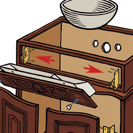 bathroom counter clipart. how to build a vintage-look dresser vanity bathroom counter clipart e