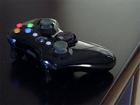 Unboxing Custom New Glossy Xbox 360 Wireless Controller | Xbox 360 Wirel...