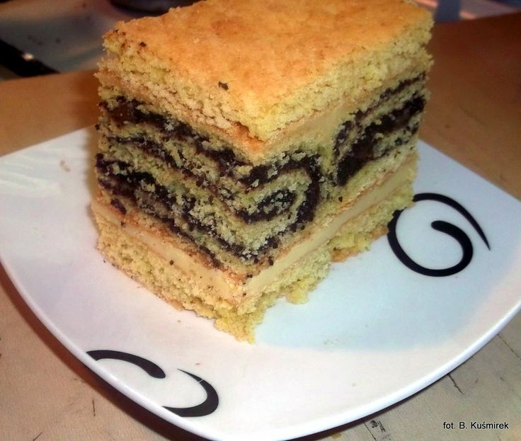 Ciasteczkowy potwór: Roladki makowe w masie serowej