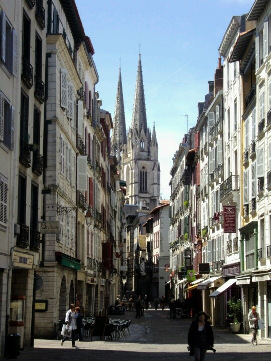 Want chocolate? Go to Bayonne, French Basque