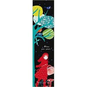 Marcapáginas Caperucita diseño Hélène Druvert La Marelle