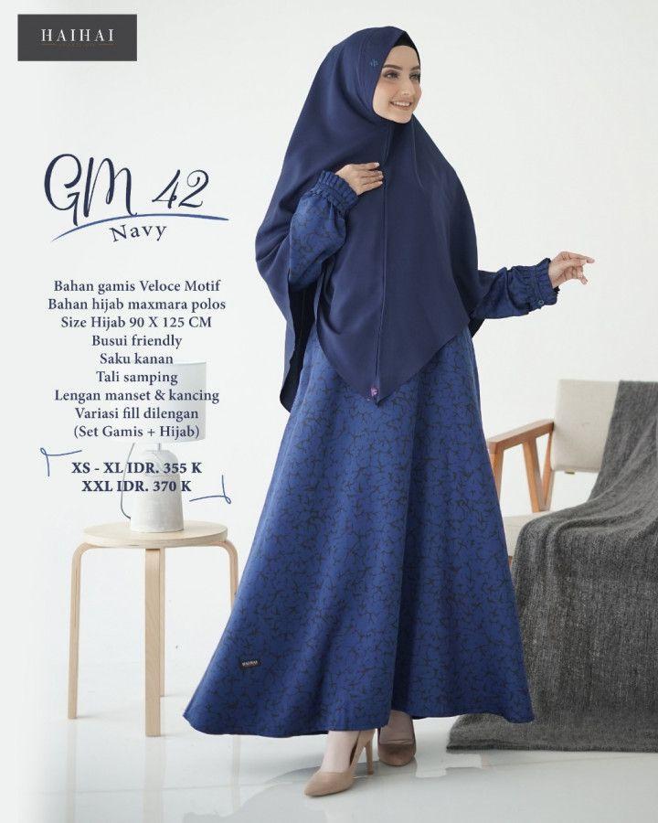 Beli Gamis Muslim Nibras Online Hijab Pakaian Baju Muslim