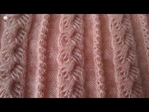 ters kalpler örgü modeli bayan yelek örneği anlatımı - YouTube