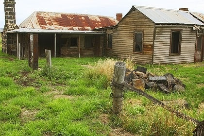 Ned Kelly's boyhood home in Beveridge. From Mernda to Jerilderie, dozens of townships claim a piece of the Kelly legend but it's in Beveridge that Ned was born in 1855.