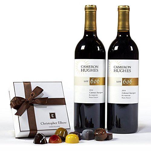 Cameron Hughes Lot 606 Rutherford Cabernet Sauvignon + Truffle Wine Gift Set, 2 x 750mL