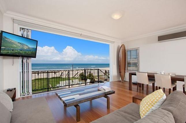 Absolute beachfront apartment -, a Palm Beach Qld Apartment | Stayz