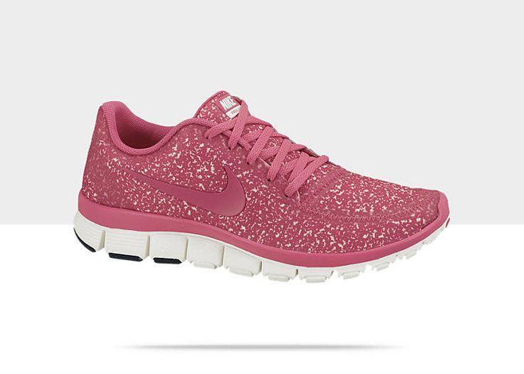 Femmes Nike Free 5.0 V4 Chaussures De Course Paillettes Rose Dans L'air la sortie dernière jHQhk6u