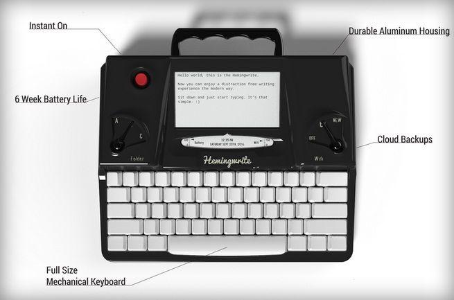 Ce parere ai despre masina de scris Hemingwrite? | NewParts Blog