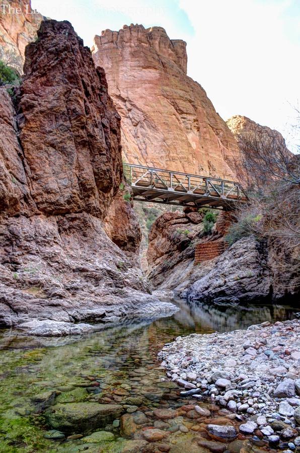 Train bridge - Superstition Mountains             (rePinned 091413TLK)