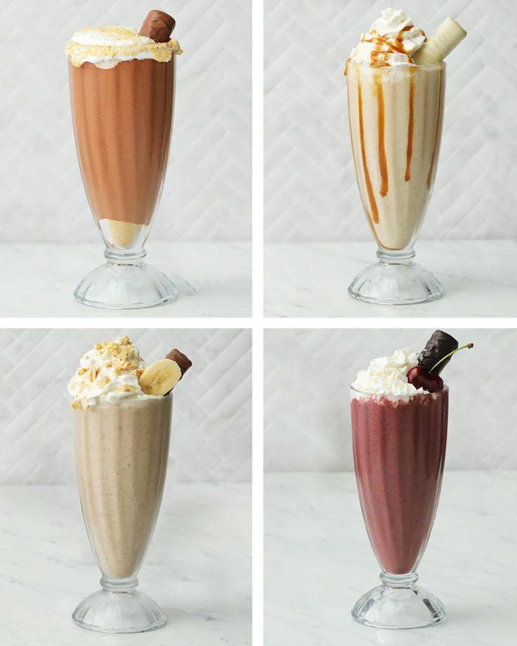 Milkshakes 4-Ways