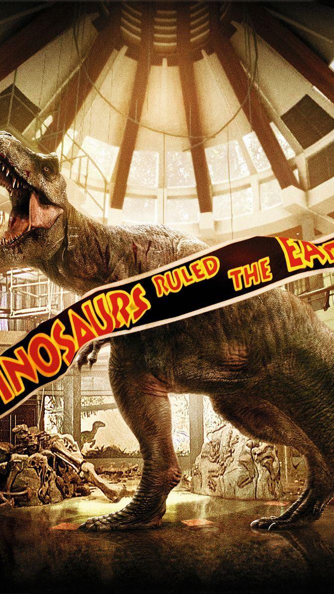 Jurassic Park (1993) Phone Wallpaper | When Dinosaurs Ruled